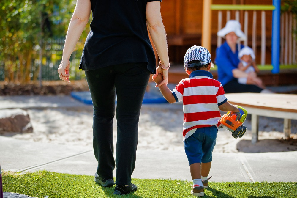 Your Child To Preschool Or Childcare