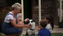 How a friendly pooch called Billy is helping children prepare for school